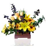 Sarý Çiçeklerden Aranjman