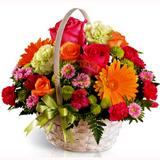 Sepette Kesme Çiçek Aranjmaný