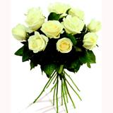 Beyaz Güllerden Buket