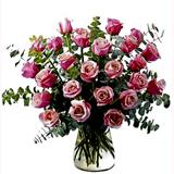Pembe Güllerden Buket