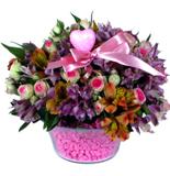 Mor Pembe çiçek