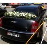 Beyaz Çiçeklerle Þýk Dizayn