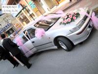 Araba süsü Pembe