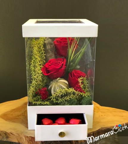 Kutuda Solmayan Güller