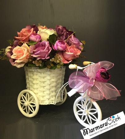 Yapay Bisiklet Çiçek