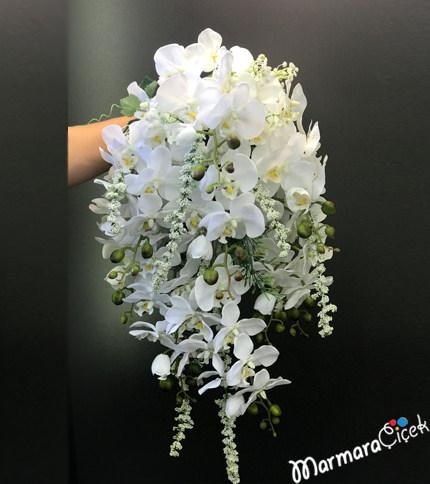 Orkide Gelin Buketi