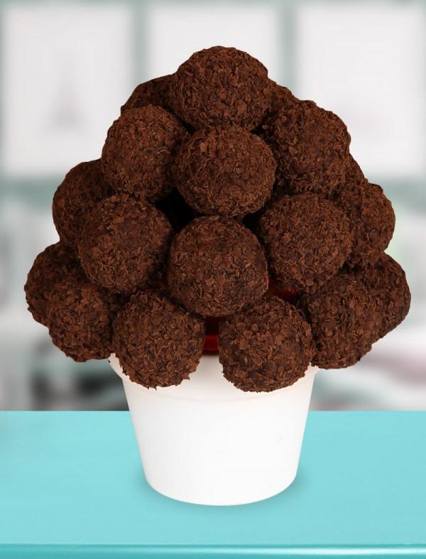 Dark Chocolate Çiçeði KOD:250