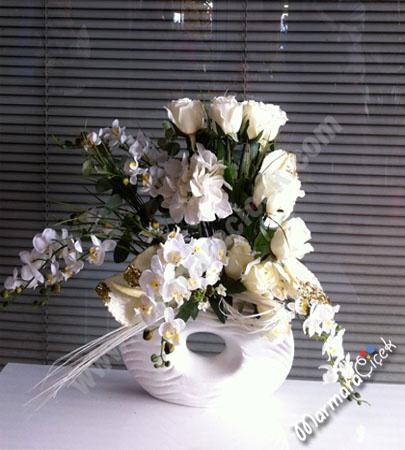 Gül & Orkide Yapay Çiçek