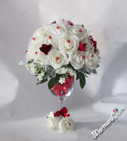 Yapay Beyaz Güller